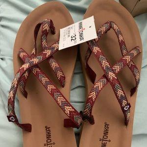 Brand New Minnetonka Sandals Size 10